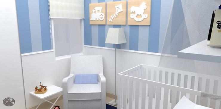 غرفة الاطفال تنفيذ TRIBU ESTUDIO CREATIVO