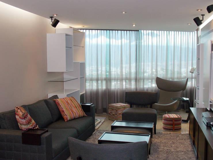 Living room by TRIBU ESTUDIO CREATIVO, Modern