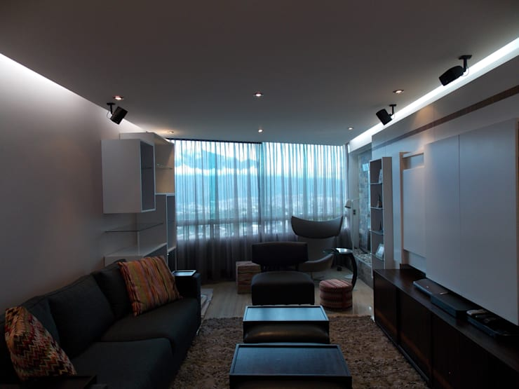 Wohnzimmer von TRIBU ESTUDIO CREATIVO, Modern
