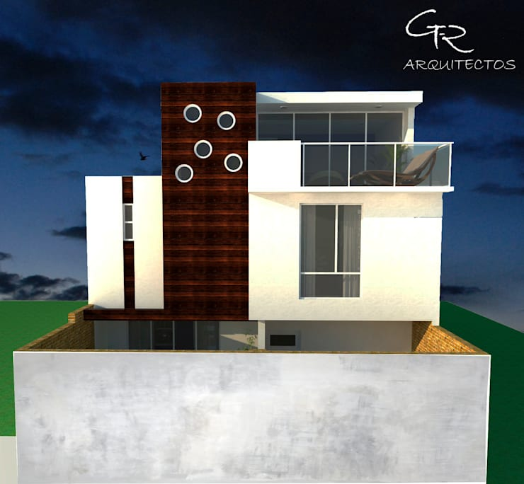House Tempo: Casas de estilo  por GT-R Arquitectos