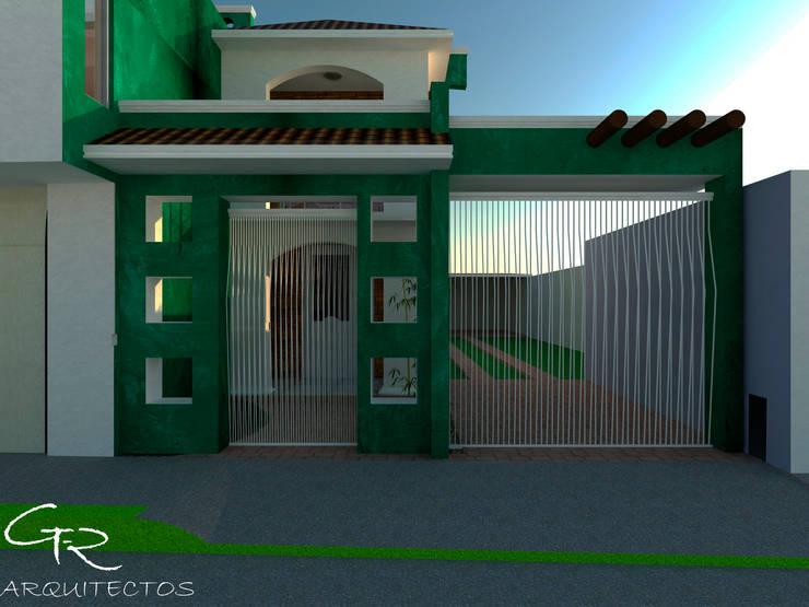 R-1: Casas de estilo  por GT-R Arquitectos