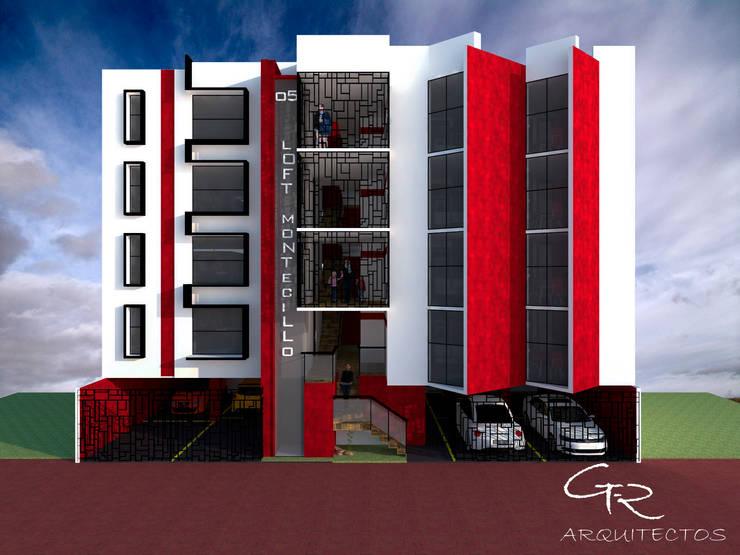 Loft Montecillo 05 : Casas de estilo  por GT-R Arquitectos