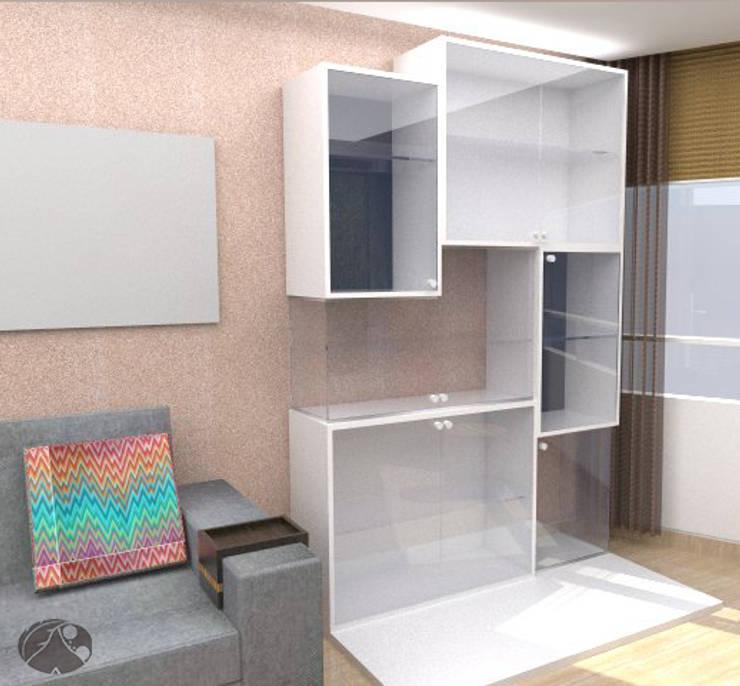 Mueble Vitrina:  de estilo  por TRIBU ESTUDIO CREATIVO