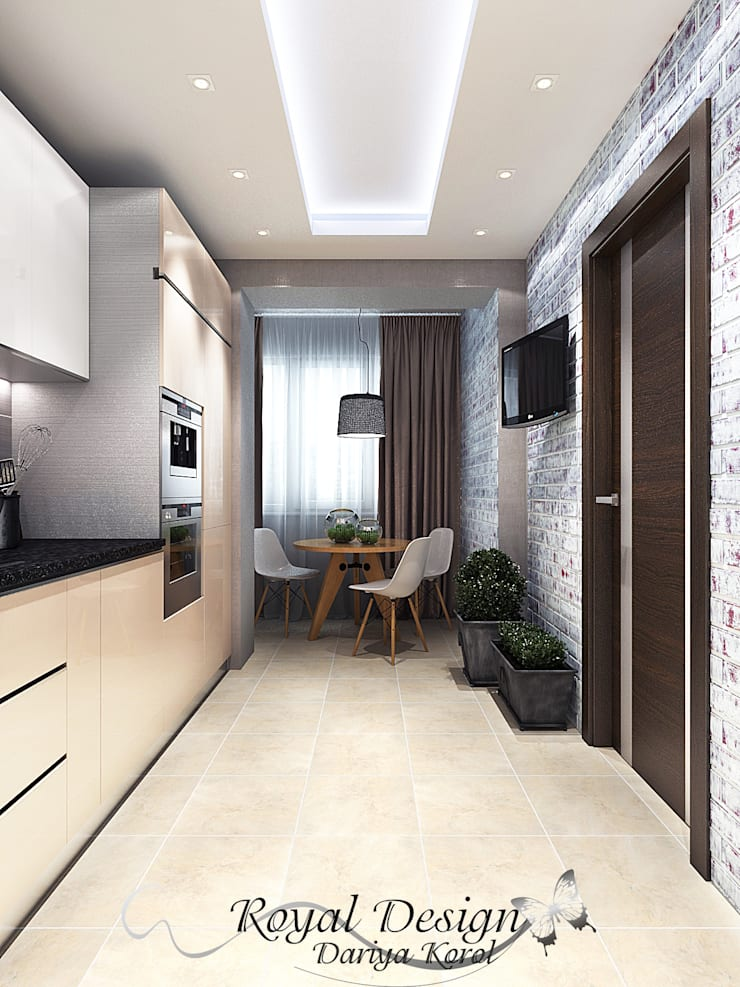 Kitchen by Your royal design, Industrial Stone