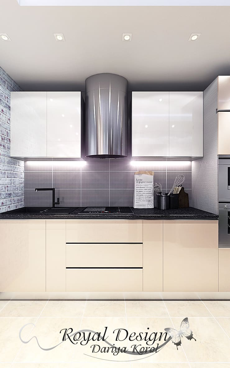 Kitchen by Your royal design, Industrial MDF