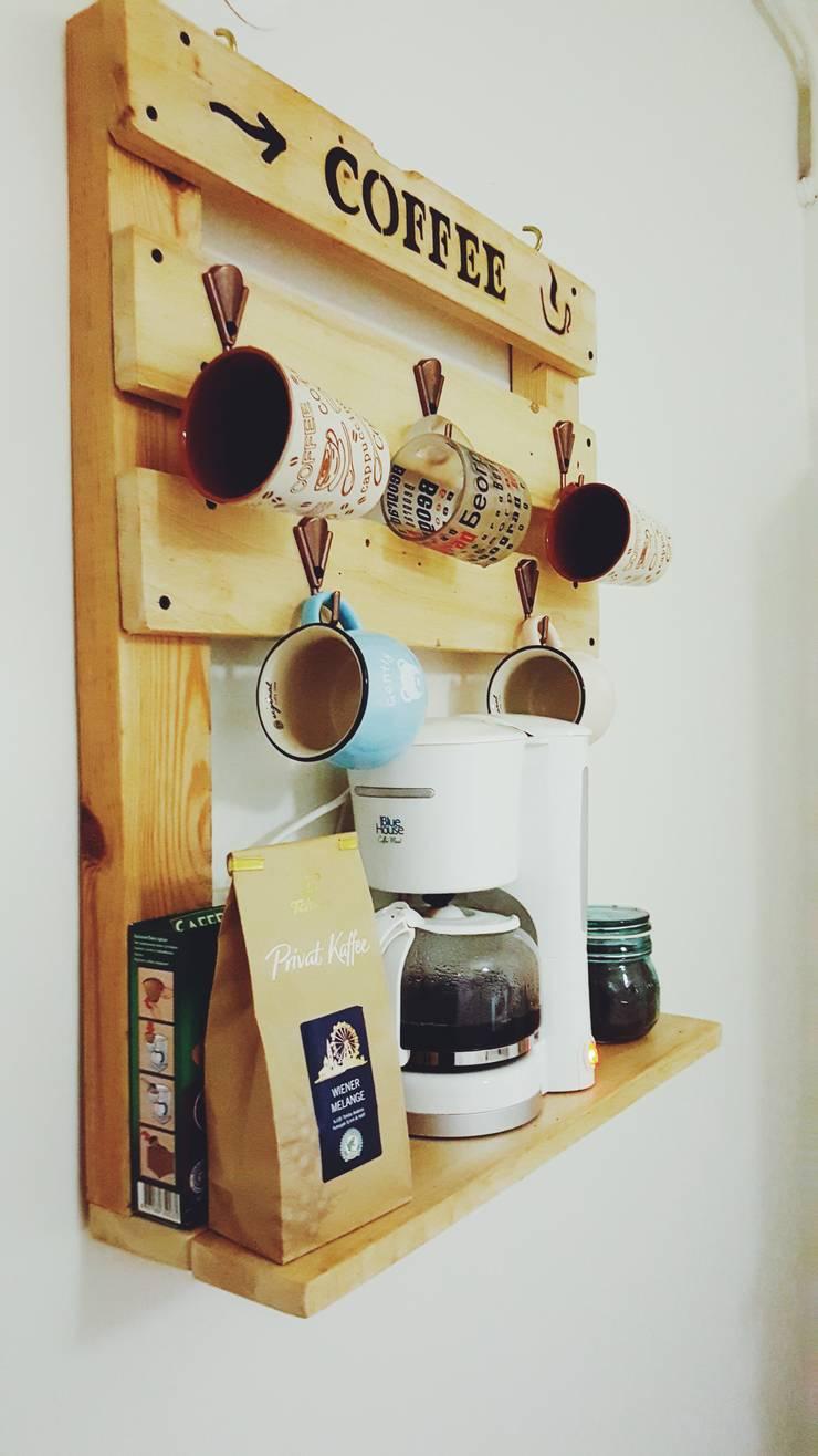Atölye Çatı – Coffee Bar:  tarz İç Dekorasyon