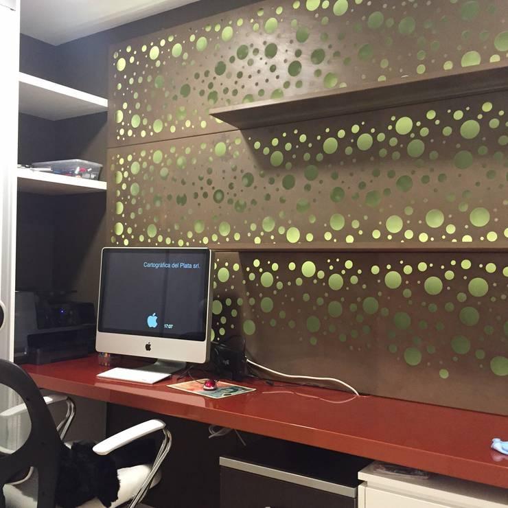 Proyecto de Interiorismo Cliente Palermo Andy Estudios y oficinas modernos de Xime Russo Interiores Moderno
