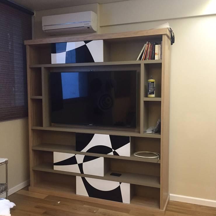 Proyecto de Interiorismo Cliente Palermo Andy Dormitorios modernos: Ideas, imágenes y decoración de Xime Russo Interiores Moderno