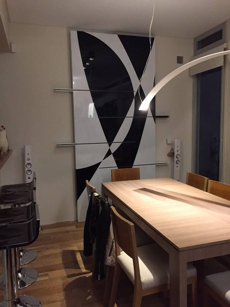 Proyecto de Interiorismo Cliente Palermo Andy Comedores modernos de Xime Russo Interiores Moderno