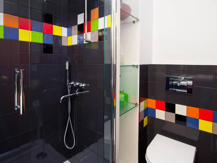 A casa de banho Kubic: Casas de banho  por Architect Your Home