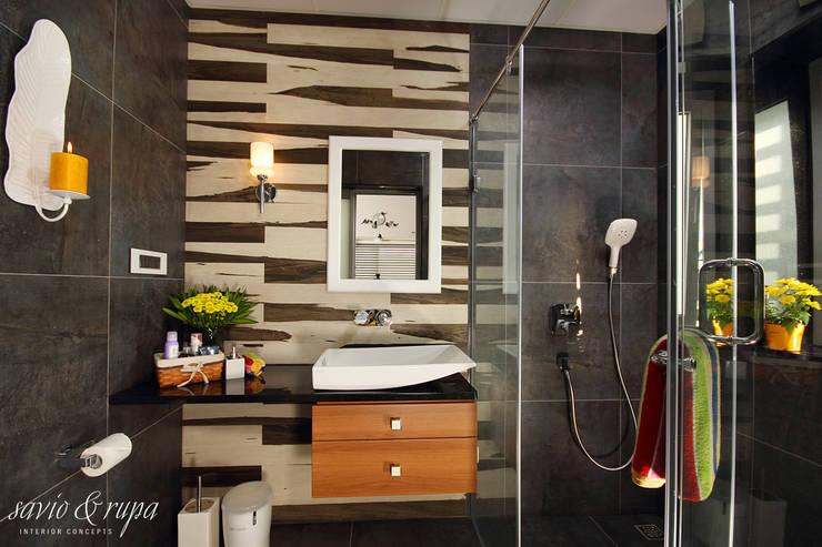 Bathroom:  Bathroom by Savio and Rupa Interior Concepts