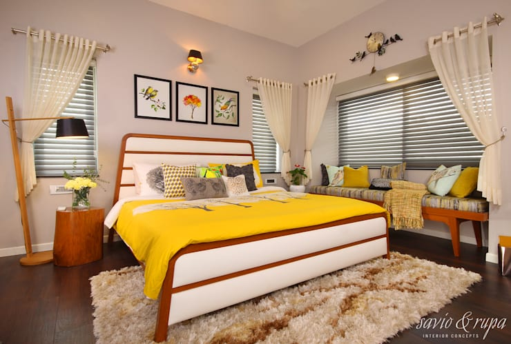 Bedroom by Savio and Rupa Interior Concepts