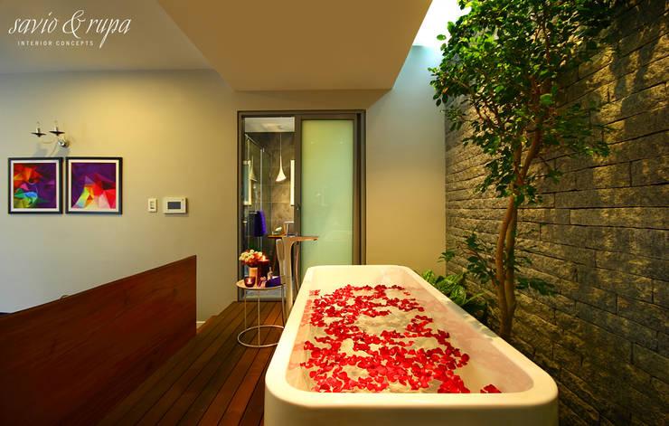 Spa by Savio and Rupa Interior Concepts ,