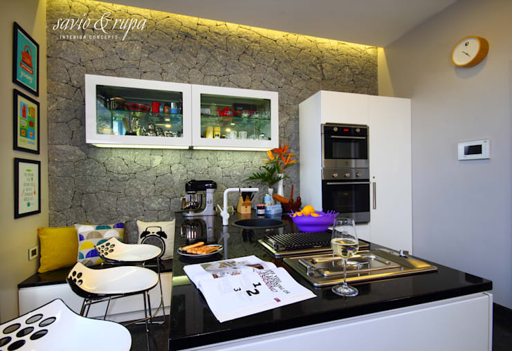 Kitchen by Savio and Rupa Interior Concepts