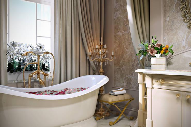 Ильинка: Ванные комнаты в . Автор – Александра Клямурис