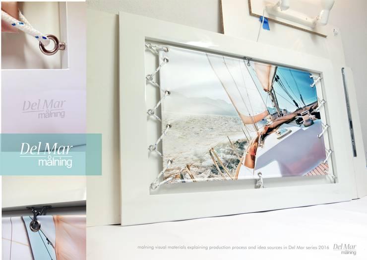 Del Mar Series White Race: styl , w kategorii  zaprojektowany przez Malning Interior Tomasz Pabin,Śródziemnomorski Lite drewno Wielokolorowy