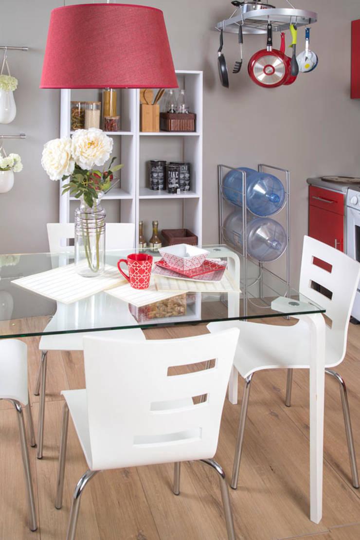 Comedor cristal: Cocina de estilo  por Idea Interior