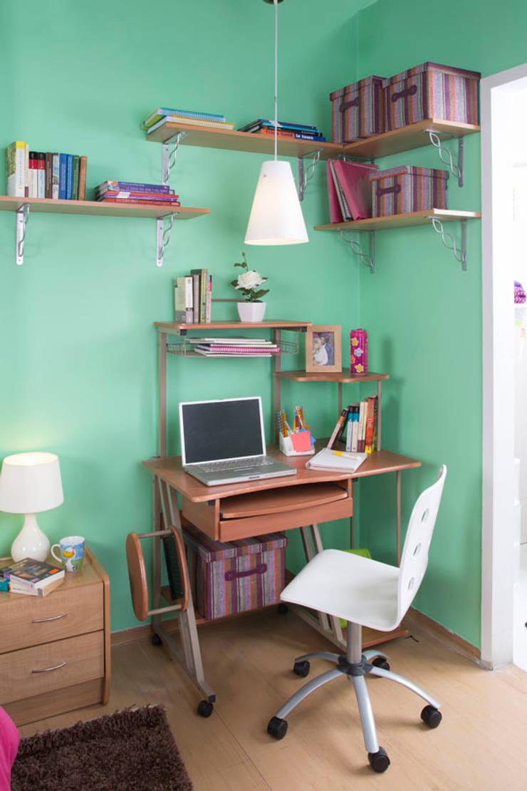 Recámara teen : Estudio de estilo  por Idea Interior