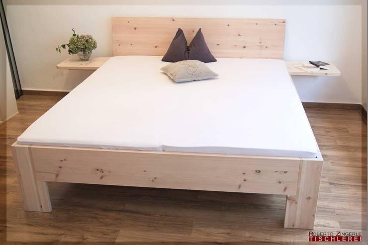 غرفة نوم تنفيذ Roberto Zingerle Tischlerei