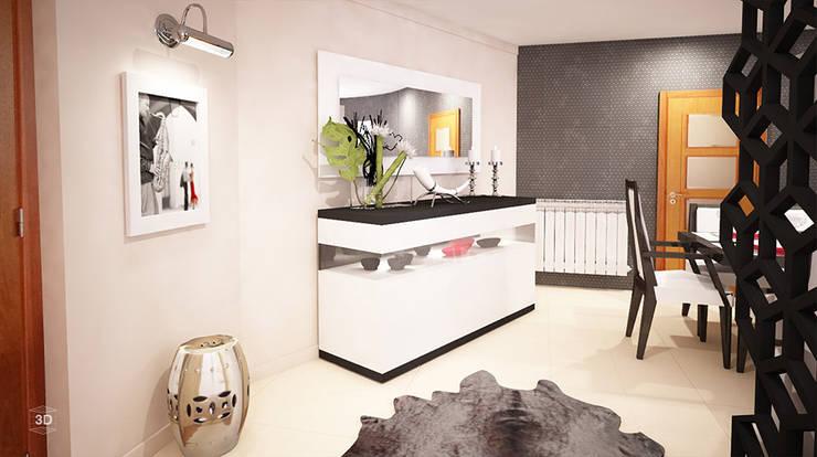 GEOMETRIC: Salas de jantar  por GRAÇA Decoração de Interiores