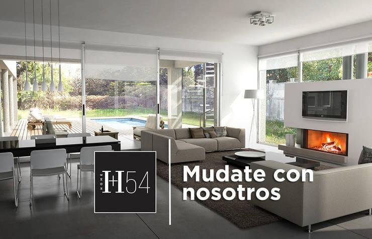 Hacelo con nosotros!: Livings de estilo  por Home54