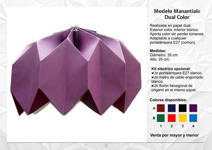Modelo Manantial Dual Color: Hogar de estilo  por Izumi,