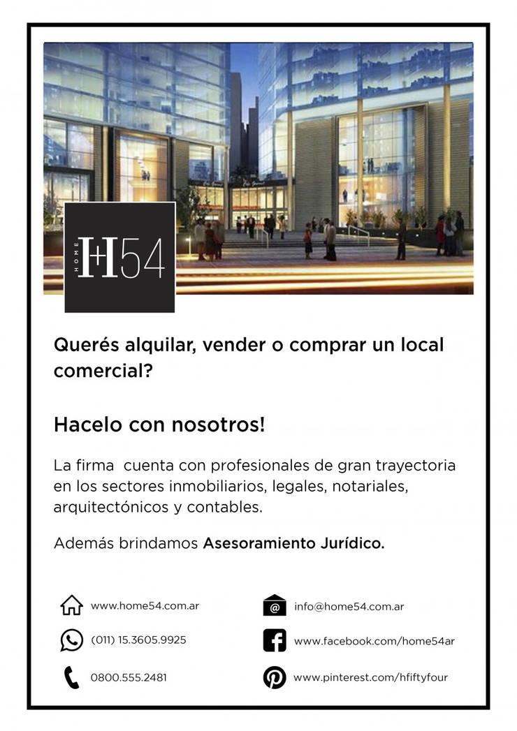 Hacelo con nosotros!: Estudios y oficinas de estilo  por Home54