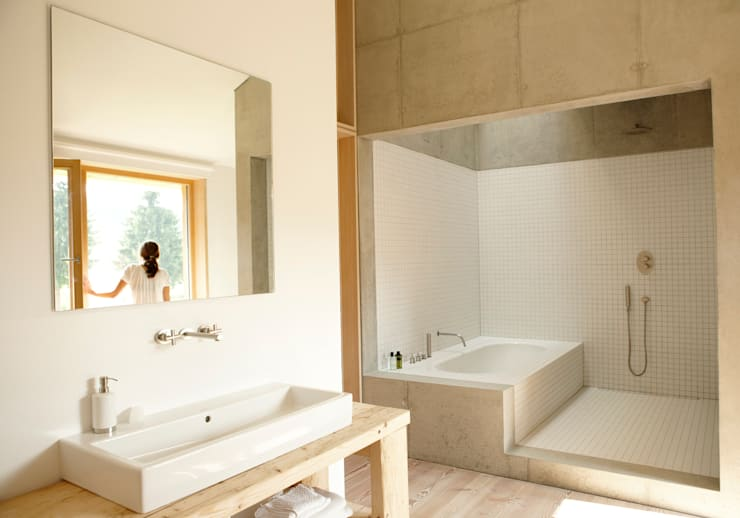 vonMeierMohr Architekten의  욕실
