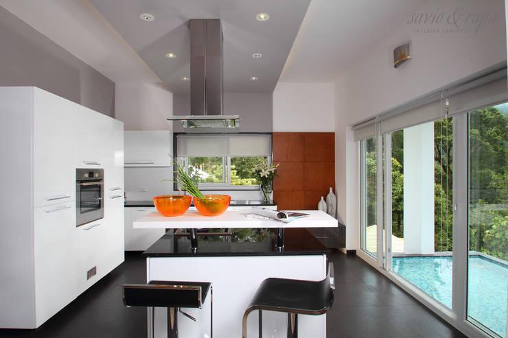 Island Kitchen: modern Kitchen by Savio and Rupa Interior Concepts