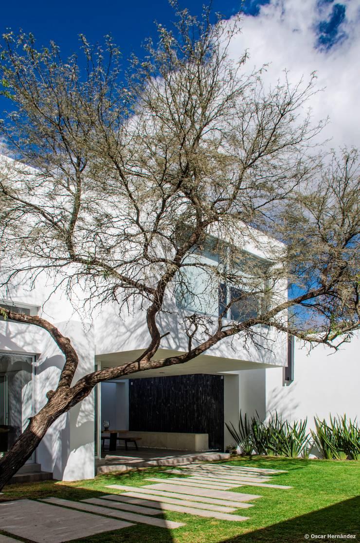 casaMEZQUITE: Casas de estilo  por BAG arquitectura