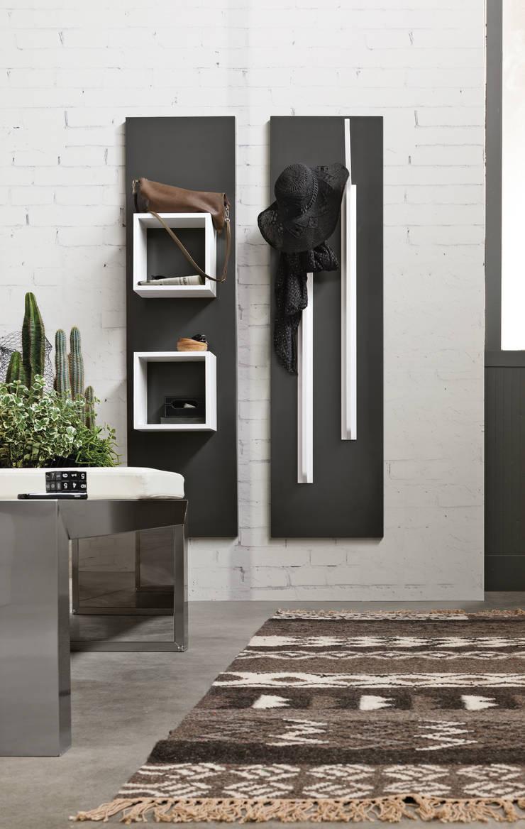Magnetyczne panele i akcesoria do biura, kuchni oraz łazienki. Ronda Design. Magnetika: styl , w kategorii  zaprojektowany przez BandIt Design,Minimalistyczny Aluminium/Cynk