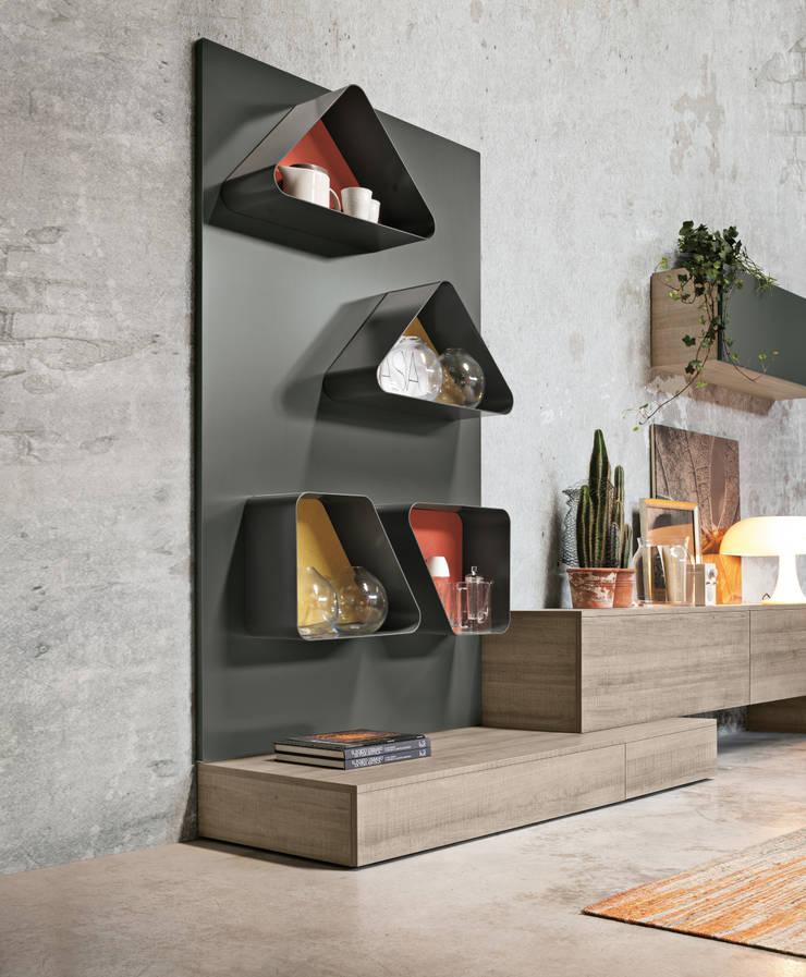 Magnetyczne panele i akcesoria do biura, kuchni oraz łazienki. Ronda Design. Magnetika: styl , w kategorii  zaprojektowany przez BandIt Design,Nowoczesny