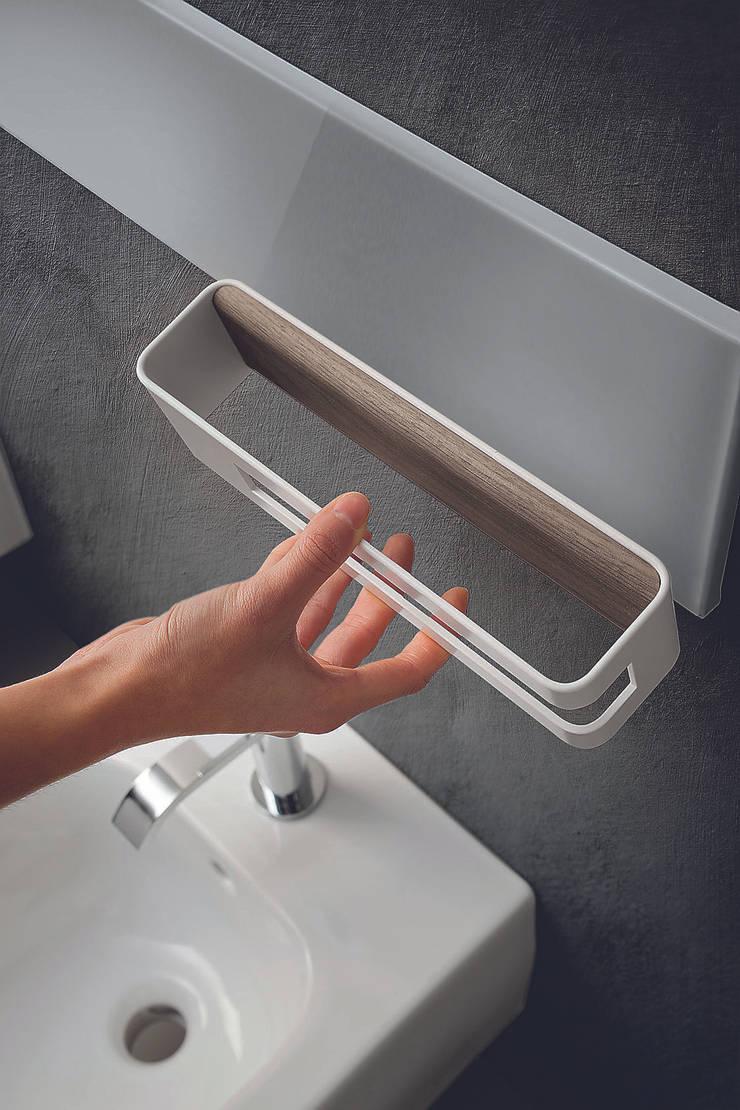 Magnetyczne panele i akcesoria do kuchni i łazienki. Ronda Design. Magnetika: styl , w kategorii  zaprojektowany przez BandIt Design,Minimalistyczny