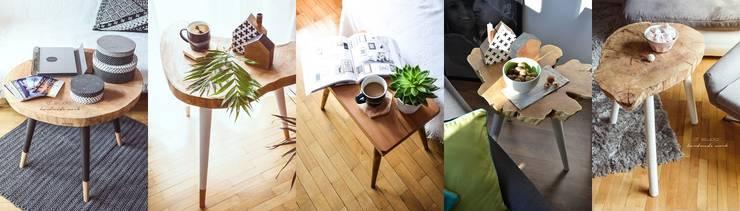 Coffee Tables by D2 Studio: styl , w kategorii Salon zaprojektowany przez D2 Studio