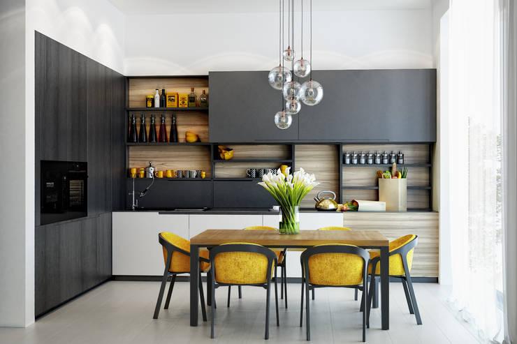 Cocinas de estilo  por PRIVALOV design