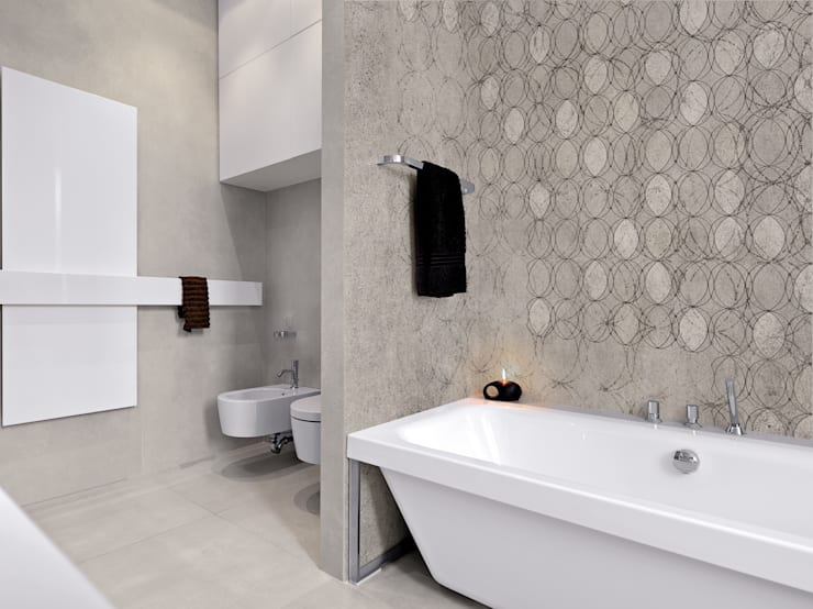 Paredes y pisos de estilo  por BandIt Design