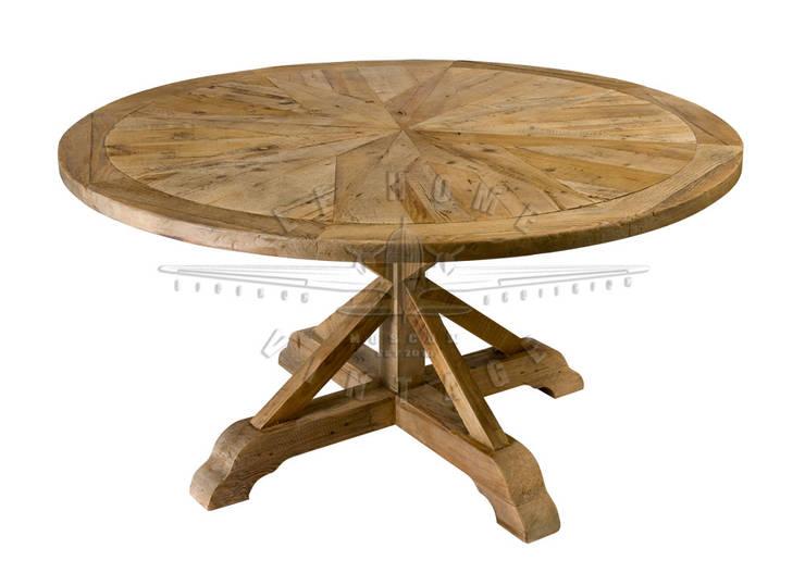 Стол Hardwood Compass Table T110:  в . Автор – LeHome Interiors, Лофт Дерево Эффект древесины