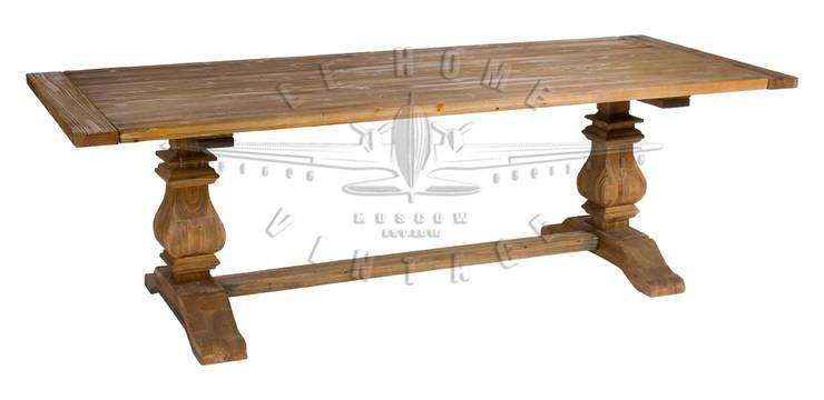 Стол Salvage Table T084:  в . Автор – LeHome Interiors, Лофт Дерево Эффект древесины