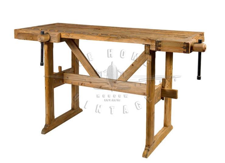 Стол T098:  в . Автор – LeHome Interiors, Лофт Дерево Эффект древесины