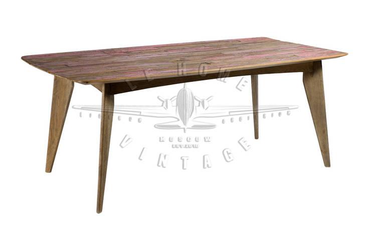 Стол Albana Table T105:  в . Автор – LeHome Interiors, Лофт Дерево Эффект древесины