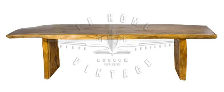 Стол Rain Tree T136:  в . Автор – LeHome Interiors, Лофт Дерево Эффект древесины