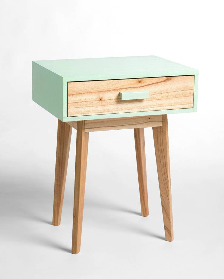 Annie Mint de Wood Market Escandinavo Madera Acabado en madera