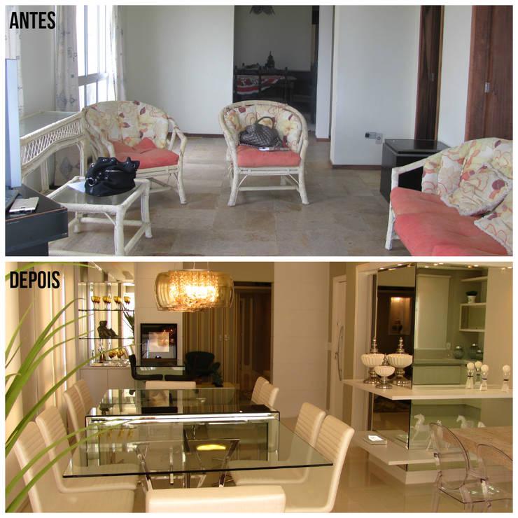 Antes e Depois:   por KOSH Arquitetura & Interiores