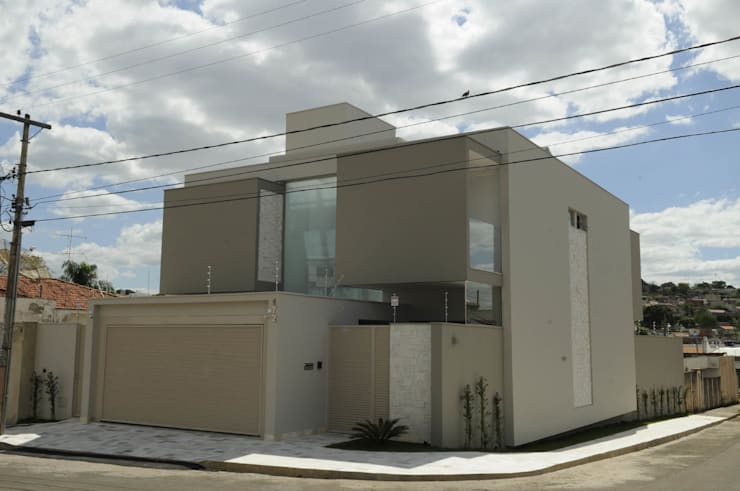 Projekty,  Domy zaprojektowane przez A/ZERO Arquitetura