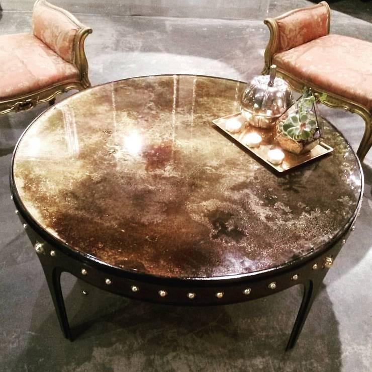 GLOBO EXCLUSIVE DESIGN COLLECTION – Konforunu sevenler için estetik ve şık <q>Coffee Table</q> çeşitleri: modern tarz , Modern