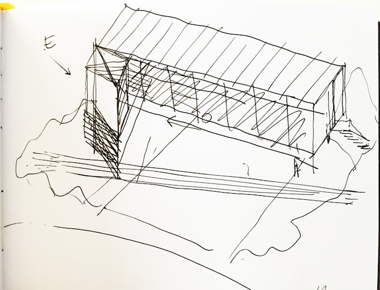 CROQUIS GENERAL:  de estilo  por CCMP Arquitectura