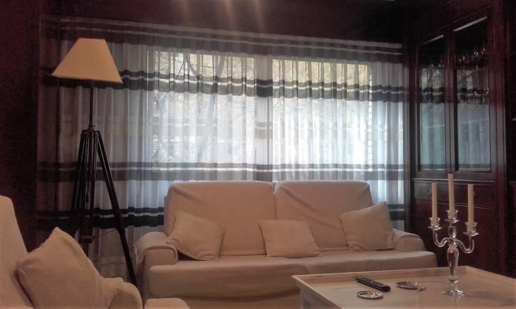 Hogar de estilo  por Navarro valera cortinas y hogar