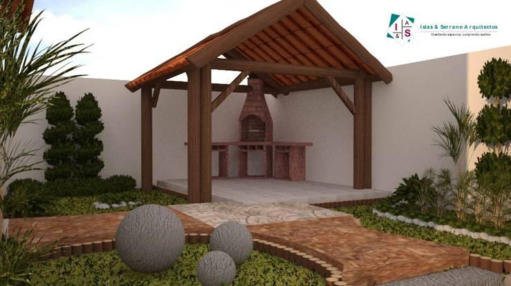 Casas de estilo  por ISLAS & SERRANO ARQUITECTOS
