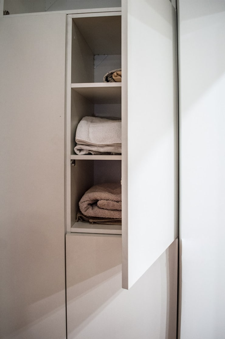 Guardado: Dormitorios de estilo  por MINBAI