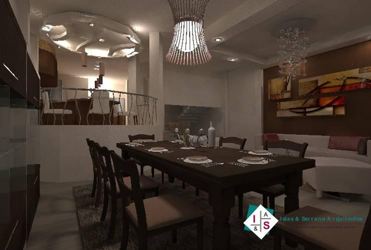 Comedor: Comedores de estilo  por ISLAS & SERRANO ARQUITECTOS